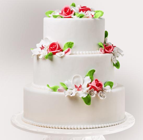 Tort Pentru Nunta Romance